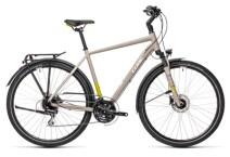 Trekkingbike Cube Touring Pro grey´n´green