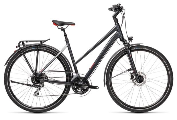 Citybike Cube Touring ONE iridium´n´red 2021