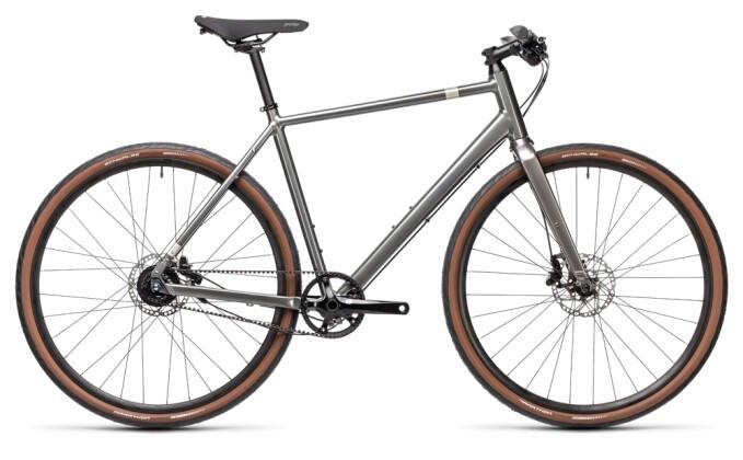 Urban-Bike Cube Editor grey´n´silver 2021