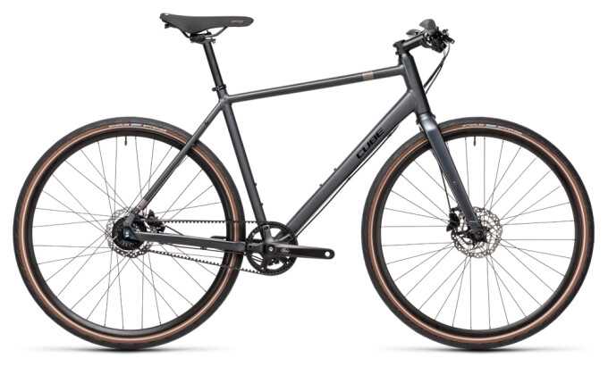 Urban-Bike Cube Hyde Race iridium´n´black 2021