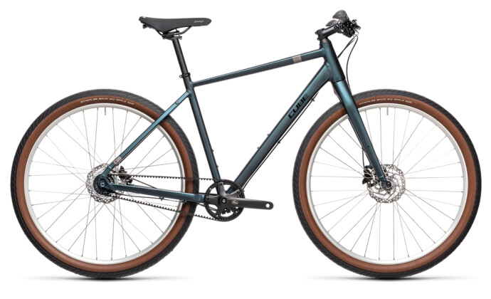Urban-Bike Cube Hyde Pro deepblue´n´silver 2021