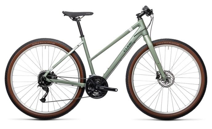 Urban-Bike Cube Hyde green`n´grey 2021