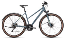 Crossbike Cube Nature Pro Allroad blue´n´green