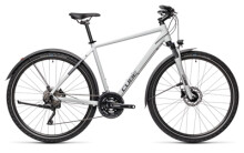 Crossbike Cube Nature Pro Allroad grey´n´iridium
