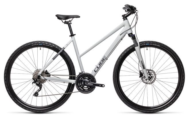 Crossbike Cube Nature Pro grey´n´iridium 2021