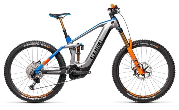 e-Mountainbike Cube Stereo Hybrid 160 HPC Actionteam 625 Nyon 2021