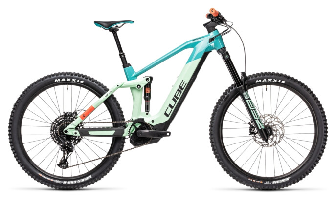 e-Mountainbike Cube Stereo Hybrid 160 HPC SL 625 27.5 pacific´n´red 2021