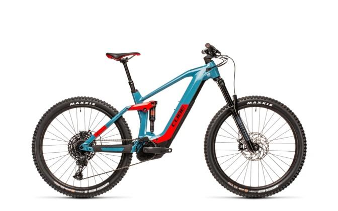 e-Mountainbike Cube Stereo Hybrid 160 HPC Race 625 27.5 blue´n´red 2021