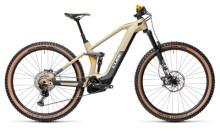 e-Mountainbike Cube Stereo Hybrid 140 HPC SL 625 desert´n´orange
