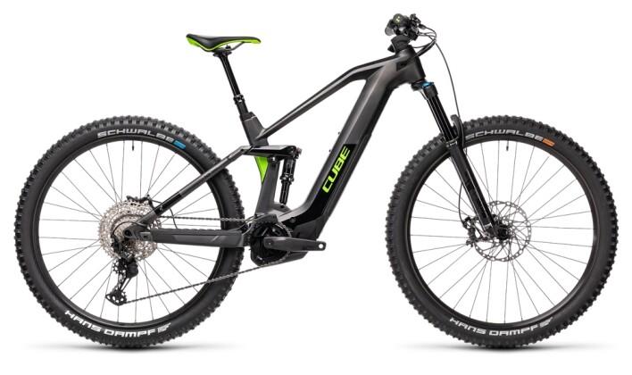 e-Mountainbike Cube Stereo Hybrid 140 HPC SL 625 iridium´n´green 2021