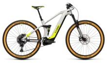 e-Mountainbike Cube Stereo Hybrid 140 HPC Race 625 grey´n´yellow