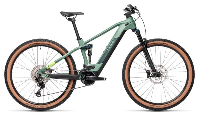 e-Mountainbike Cube Stereo Hybrid 120 Race 625 green´n´sharpgreen 2021