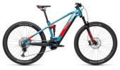 e-Mountainbike Cube Stereo Hybrid 120 Race 625 blue´n´red