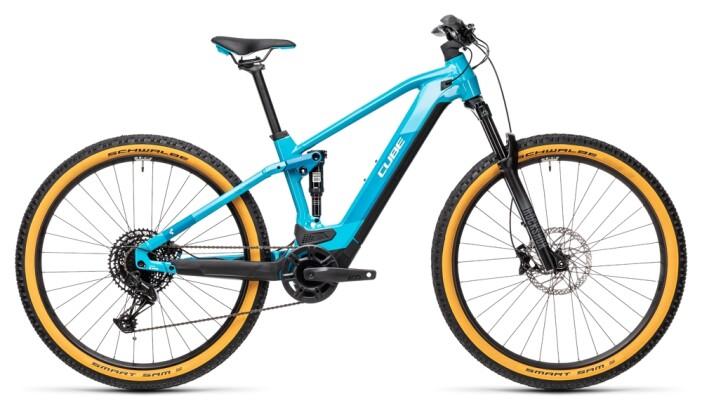 e-Mountainbike Cube Stereo Hybrid 120 Pro 625 petrol´n´blue 2021
