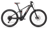 e-Mountainbike Cube Stereo Hybrid 120 Pro 500 black´n´red