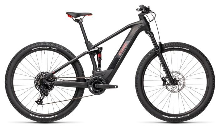 e-Mountainbike Cube Stereo Hybrid 120 Pro 500 black´n´red 2021