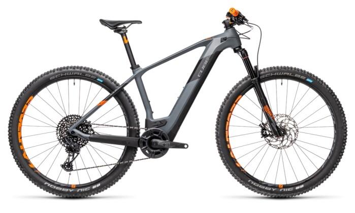 e-Mountainbike Cube Elite Hybrid C:62 Race 625 29 grey´n´orange 2021