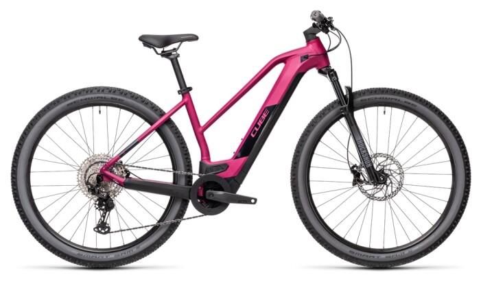 e-Mountainbike Cube Reaction Hybrid Race 625 29 berry´n´black 2021