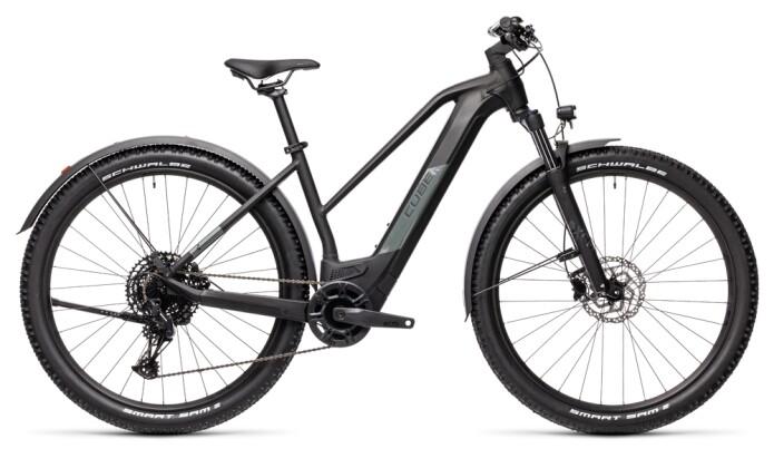 e-Mountainbike Cube Reaction Hybrid Pro 500 29 Allroad black´n´grey 2021