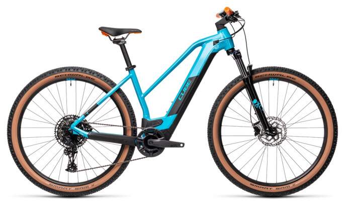 e-Mountainbike Cube Reaction Hybrid Pro 500 29 petrol´n´orange 2021