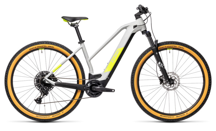 e-Mountainbike Cube Reaction Hybrid Pro 625 29 grey´n´yellow 2021