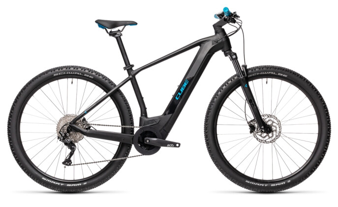 e-Mountainbike Cube Reaction Hybrid ONE 500 29 black´n´blue 2021
