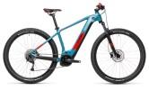 e-Mountainbike Cube Reaction Hybrid Performance 400 blue´n´red