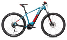 e-Mountainbike Cube Reaction Hybrid Performance 400 blue´n´red
