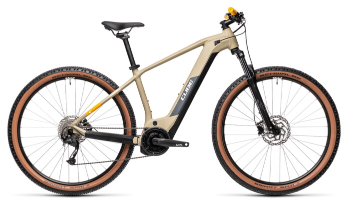 e-Mountainbike Cube Reaction Hybrid Performance 625 desert´n´orange 2021