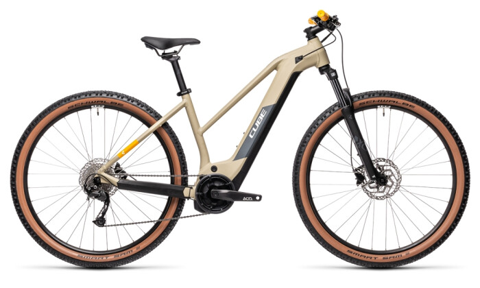 e-Mountainbike Cube Reaction Hybrid Performance 400 desert´n´orange 2021