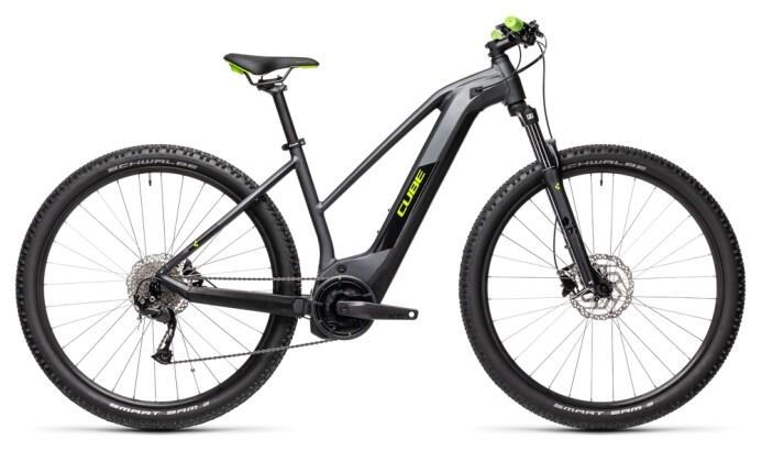 e-Mountainbike Cube Reaction Hybrid Performance 400 iridium´n´green 2021