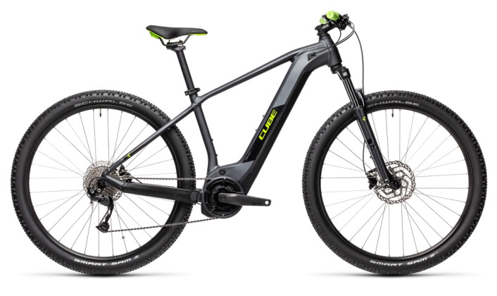 e-Mountainbike Cube Reaction Hybrid Performance 400 iridium´n´green 2021
