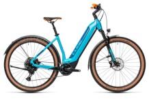 e-Mountainbike Cube Nuride Hybrid EXC 625 Allroad petrol´n´blue