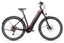 e-Mountainbike Cube Nuride Hybrid Pro 625 Allroad berry´n´grey
