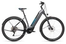 e-Mountainbike Cube Nuride Hybrid Pro 500 Allroad grey´n´blue