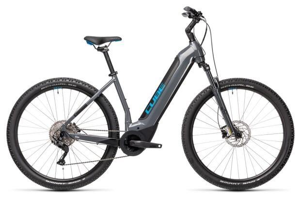 e-Mountainbike Cube Nuride Hybrid Pro 500 grey´n´blue 2021