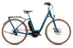e-Citybike Cube Ella Cruise Hybrid 500 petrol´n´grey
