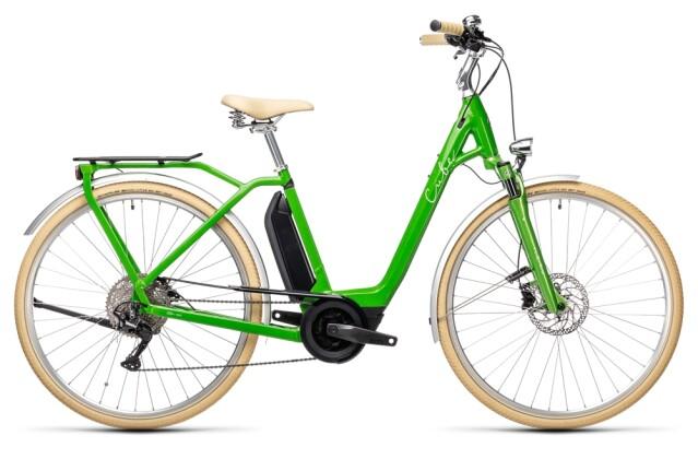 e-Citybike Cube Ella Ride Hybrid 400 applegreen´n´white 2021