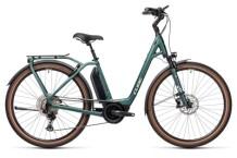 e-Trekkingbike Cube Town Sport Hybrid EXC 500 green´n´green