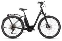 e-Trekkingbike Cube Town Sport Hybrid EXC 500 black´n´grey