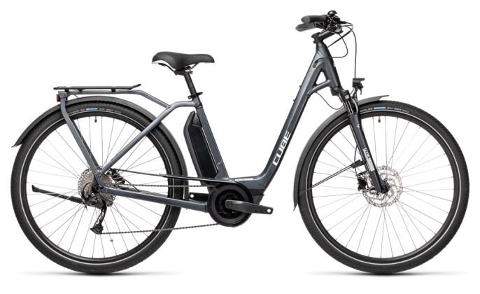 e-Trekkingbike Cube Town Sport Hybrid ONE 500 iridium´n´grey 2021