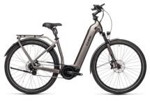 e-Trekkingbike Cube Town Hybrid SL 625 teak´n´black
