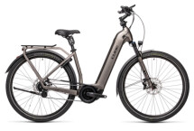 e-Trekkingbike Cube Town Hybrid SL 500 teak´n´black