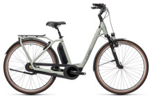 e-Citybike Cube Town RT Hybrid EXC 500 lunar´n´grey