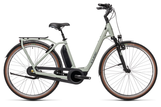 e-Citybike Cube Town RT Hybrid EXC 500 lunar´n´grey 2021
