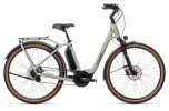 e-Citybike Cube Town Hybrid EXC 500 lunar´n´grey