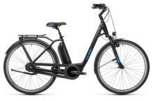 e-Citybike Cube Town RT Hybrid Pro 500 black´n´blue