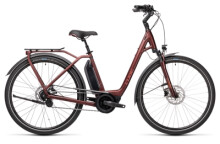 e-Citybike Cube Town Hybrid Pro 500 red´n´red