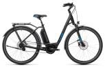 e-Citybike Cube Town Hybrid Pro 500 black´n´blue