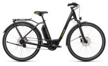 e-Citybike Cube Town Hybrid ONE 400 black´n´green